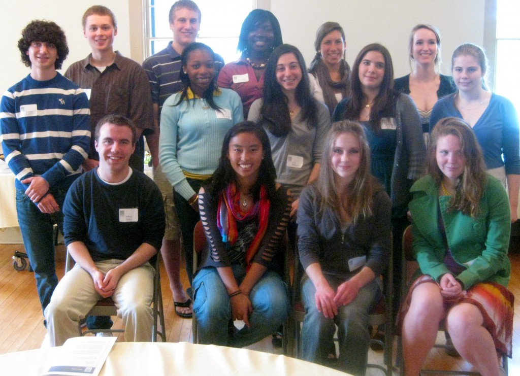 Atkinson Scholarship recipients 2010